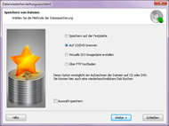 Magic NTFS Recovery: Datenexport-Assistent