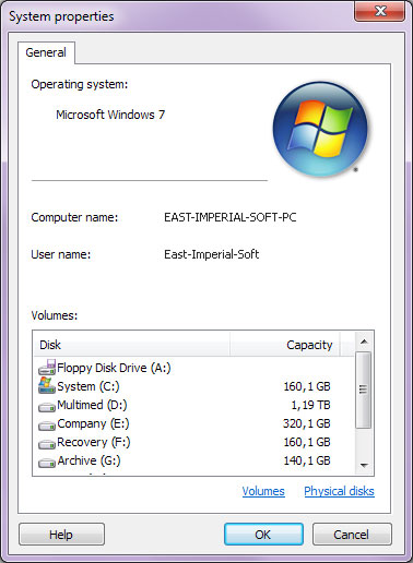 Using Magic NTFS Recovery: Operating System Properties